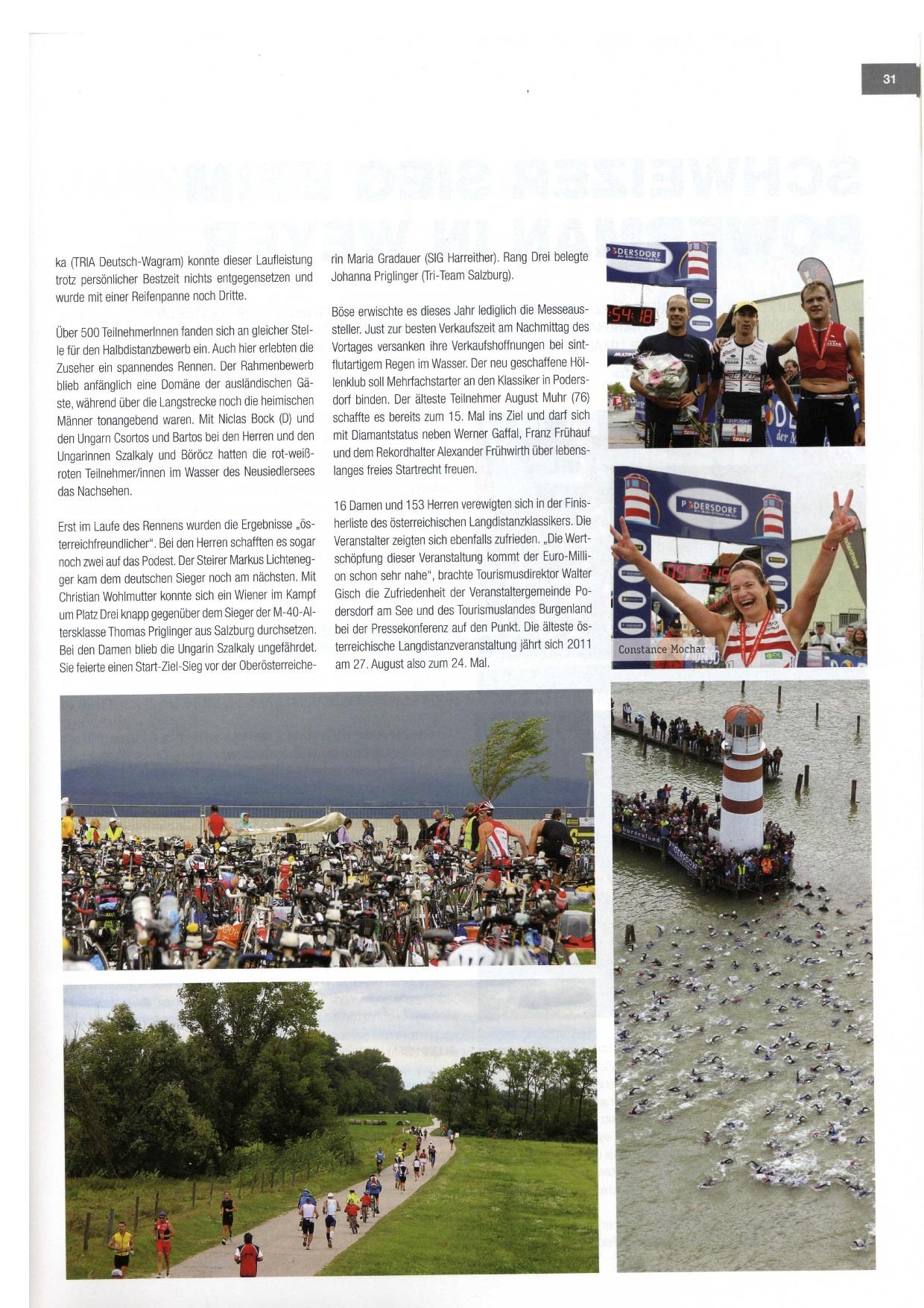 Finisher Magazin Podersdorf 2010 -2