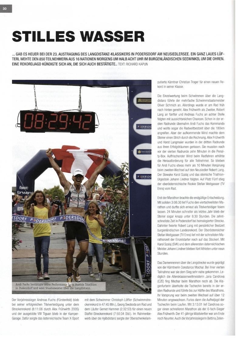 Finisher Magazin - Podersdorf 2010